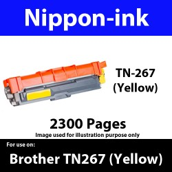 TN267 Yellow  For Brother TN-267 TN 267 Laser Toner