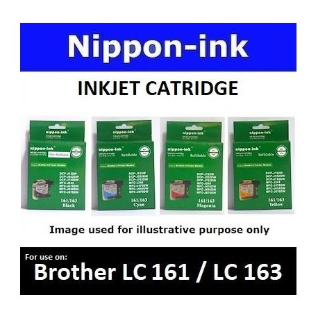 LC161 / LC163 Black for Brother ink cartridge
