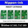 LC161 / LC163 Yellow Compatible on Brother ink cartridge - LC161Y / LC163Y / DCP-J152W DCP-J552DW DCP-J752DW MFC-J470DW