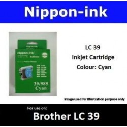 LC39 Cyan for Brother Ink Cartridge - LC39CY CY