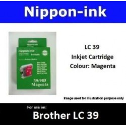 LC39 Magenta for Brother Ink Cartridge - LC39M