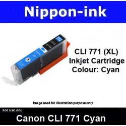 CLI770 XL Cyan ( CY ) for Canon ink cartridge - MG5770 MG7770 TS5070 TS8070 - CLI771CY CLI-771CY CLI 771
