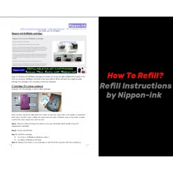 How to Refill - Refill Instructions from www.nippon-ink.com
