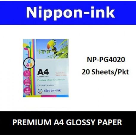 NP-PG4020 A4 Glossy Photo 230 GSM Inkjet Paper 20 pcs