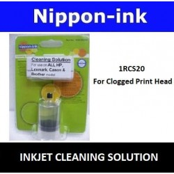 Cleaning solution ( To Remove Print Head Clog ) - For All Inkjet Printers - Brother Epson Canon HP Lexmark Dell