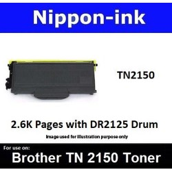TN 2150 Black For Brother laser toner TN2150
