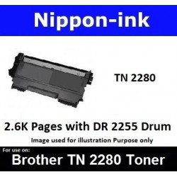 TN 2280 Black For Brother laser toner TN2280