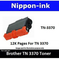 TN 3370 Black For Brother laser toner TN3370 Nipponink