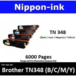 TN 348 For Brother laser toner TN348 Nipponink
