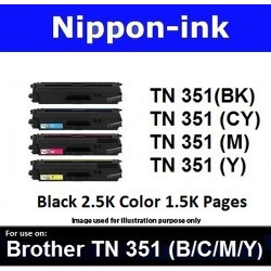 TN 351 For Brother laser toner TN351 Nipponink