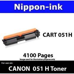 Cartridge 051H Black For Canon laser toner Cartridge051H Nipponink