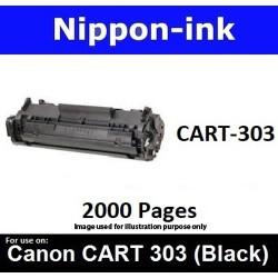 Cartridge 303 Black For Canon laser toner Cartridge303 Nipponink