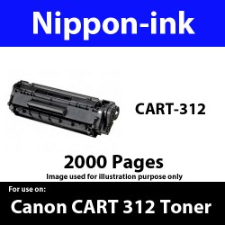Cartridge 312 Black For Canon laser toner Cartridge312 Nipponink