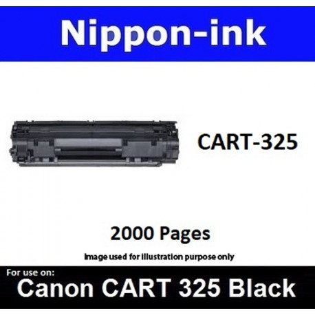 Cartridge 325 Black For Canon laser toner Cartridge325 Nipponink