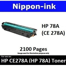 For HP 78 A ( CE 278A ) Black laser Toner Nipponink 78A ( CE278A )
