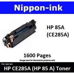 For HP 85 A ( CE 285A ) Black laser Toner Nipponink 85A ( CE285A )