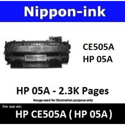 For HP 05 A ( CE 505A ) Black laser Toner Nipponink 05A ( CE505A )
