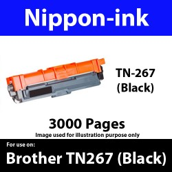 TN267 Black  For Brother TN-267 TN 267 Laser Toner