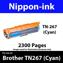 TN267 Cyan  For Brother TN-267 TN 267 Laser Toner