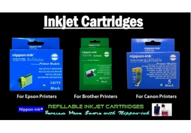 Ink Cartridges for Inkjet printers